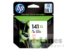 Картридж HP CB338HE (141XL) цветной